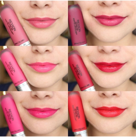 Son kem lì Revlon ultra hd matte lip color