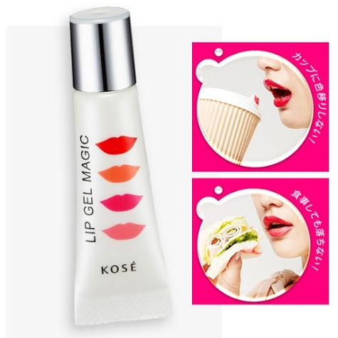 Son khóa môi Kose Lip Gel Magic