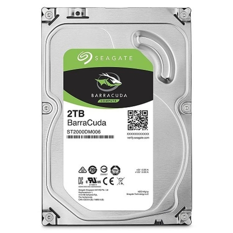 HDD Seagate 2TB BarraCuda 3.5