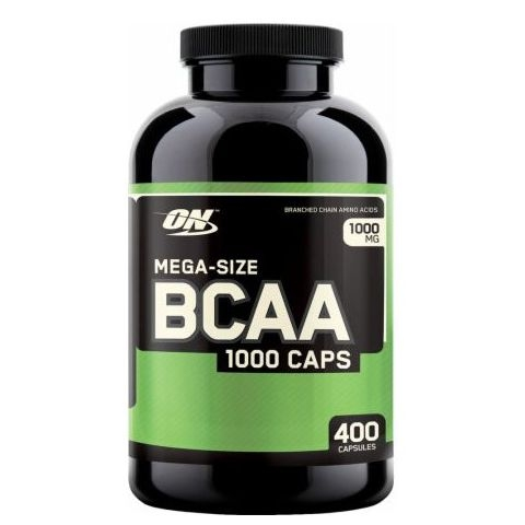 ON BCAA 1000 Caps, 400 Capsules