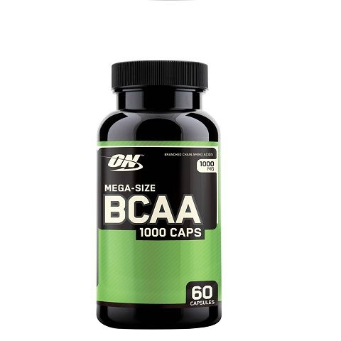 ON BCAA 1000 Caps, 60 Capsules