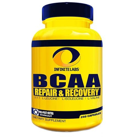 Infinite Labs BCAA Repair & Recovery, 240 Capsules