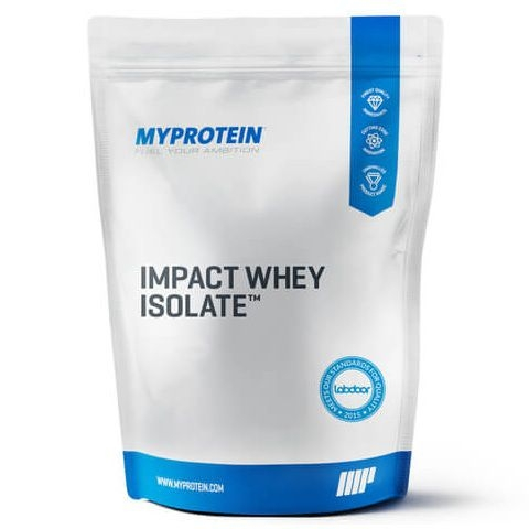 Myprotein Impact Whey Isolate, 5.5Lbs (100 Servings)