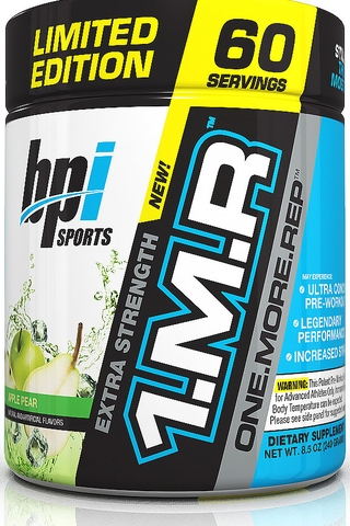 BPI SPORT 1.M.R ONE.MORE.REP, 60 SERVINGS