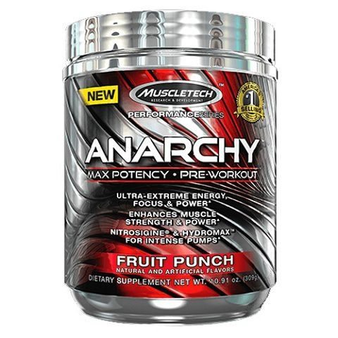 MuscleTech Anarchy, 60 Servings