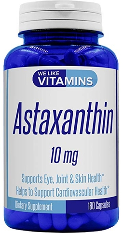 We Like Vitamins Astaxanthin 10mg, 180 Capsules