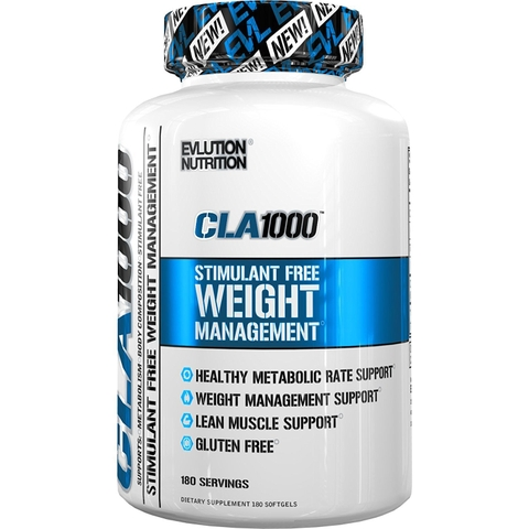 EVLUTION NUTRITION CLA 1000, 180 Softgels