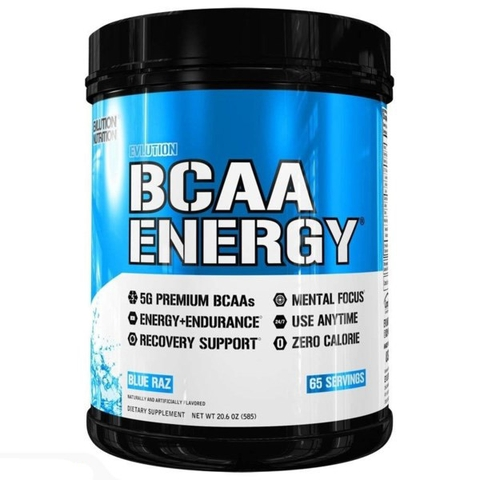 EVLUTION NUTRITION BCAA Energy, 65 Servings
