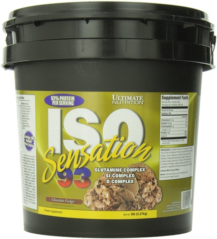Ultimate Nutrition ISO Sensation 93, 5Lbs (2.27Kg)