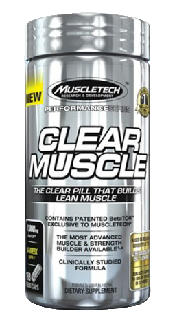 MuscleTech Clear Muscle , 168 Liquid Caps