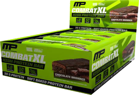 MusclePharm Combat XL High Protein Bars (12 Bars)