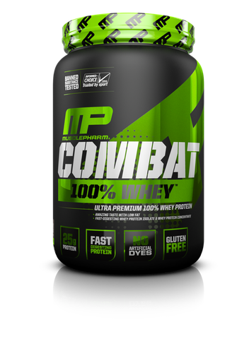 MusclePharm Combat 100% Whey, 2Lbs