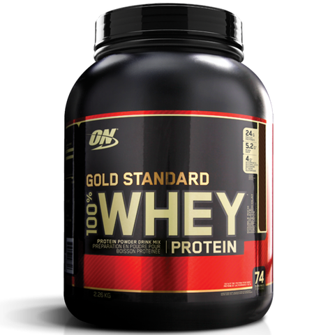 ON Gold Standard 100% Whey, 5Lbs (2270g)