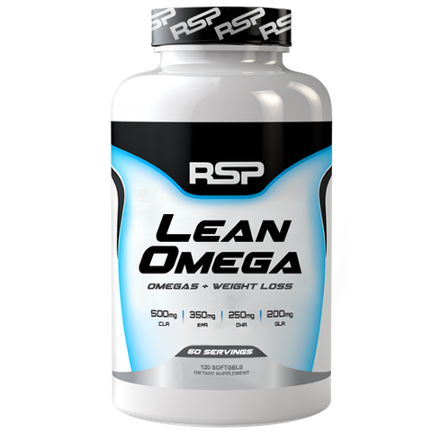 RSP Nutrition LeanOmega, 60 Softgels