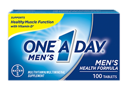 One A Day Men's Health Formula Multivitamin, 60 Tablets