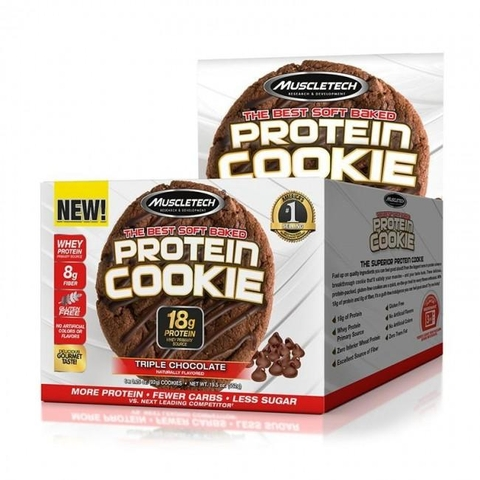 MuscleTech Protein Cookie (Box - 6 Cookies)