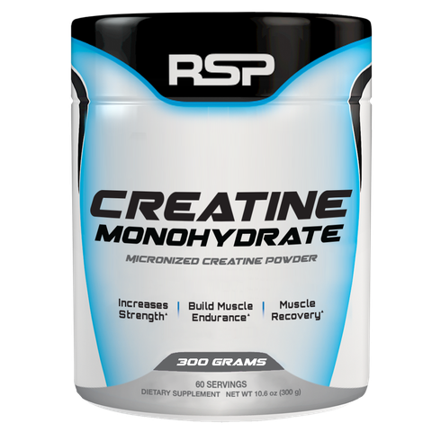 RSP Nutrition Creatine Monohydrate, 300 Grams