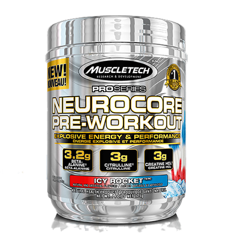 MuscleTech NeuroCore Pre-Workout, 33 Servings