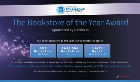 BOA Bookstore (Vietnam) shortlisted for LBF International Excellence Awards