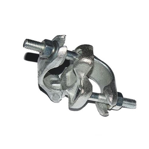 British drop forged double fixed coupler