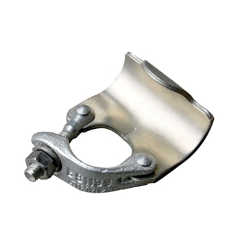 Drop forged putlog coupler