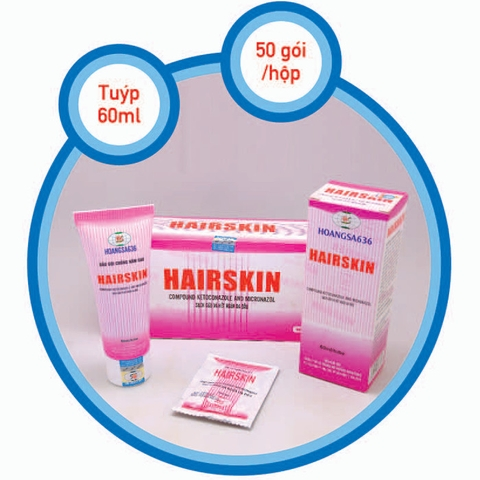 HAIRSKIN - tuýp 60ml
