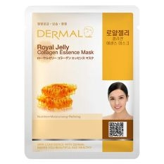 Mặt nạ Collagen tinh chất Sữa Ong Chúa - Dermal Premium Royal Jelly Collagen Essence Mask