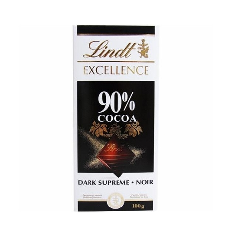 Sôcôla đen Lindt Excellence 90% cacao thanh 100g