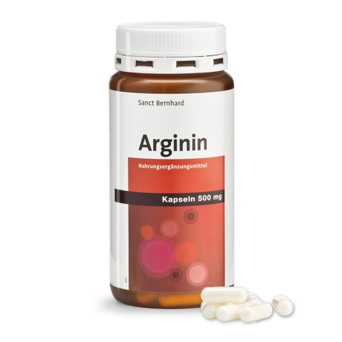 Sanct Bernhard Arginin 500 mg