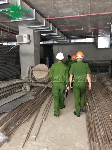 Hệ thống pccc cho tòa nhà tại tp. vinh - nghệ an