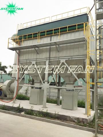 Hệ thống hút bụi nhựa System Fan