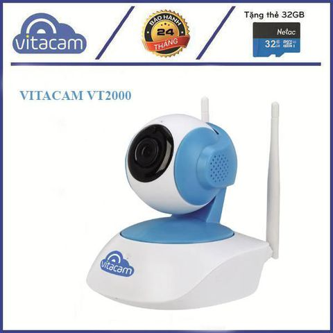 Vitacam IP VT2000 – 3.0Mpx Full HD