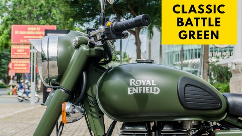 Royal Enfield - Classic Battle Green