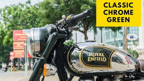 Royal Enfield - Classic Chrome Green