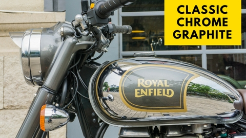 Royal Enfield - Classic Chrome Graphite