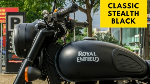 Royal Enfield - Classic Stealth Black