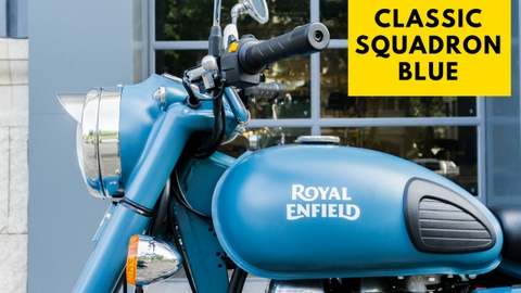 Royal Enfield - Classic Squadron Blue