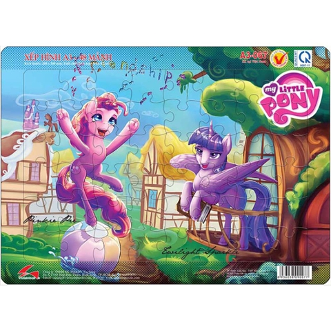 Xếp hình A3-067 Pinkie Pie and Twilight Sparkle