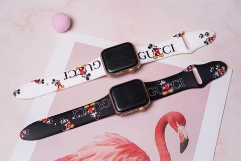 Dây Silicone hình Mickey cho Apple Watch