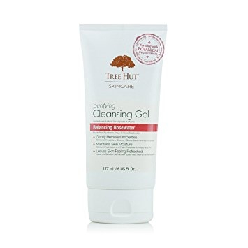 Sữa Rửa Mặt Tree Hut Purifying Cleansing Gel Balancing Rosewater (177ml)
