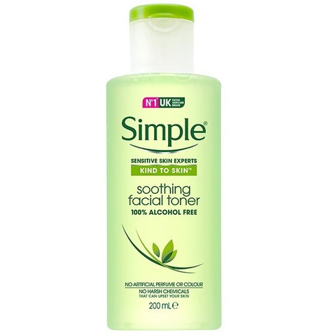 SIMPLE TONER ALCOHOL FREE
