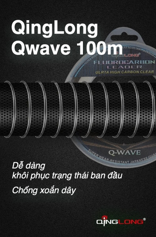 Dây fluorocarbon leader QingLong Q-Wave