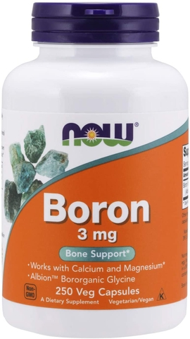 NOW BORON 3MG (250 VIÊN)
