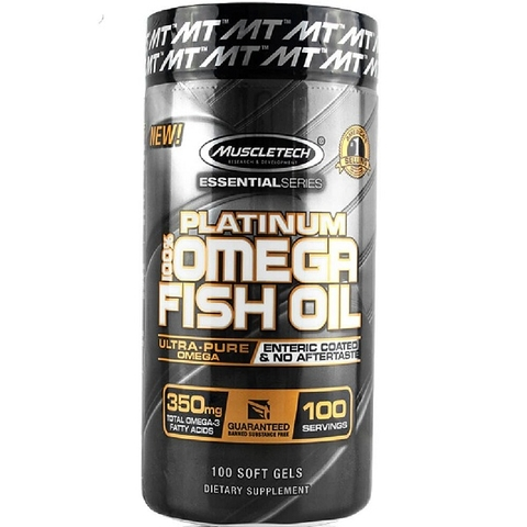 PLATINUM 100% FISH OIL (100 VIÊN)