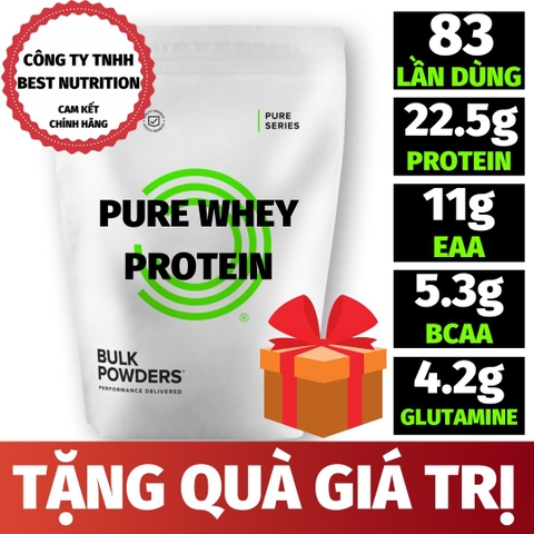 PURE WHEY PROTEIN (2.5KG - 83 LẦN DÙNG)