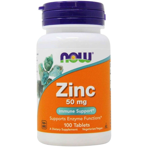 NOW ZINC 50MG (100 VIÊN)