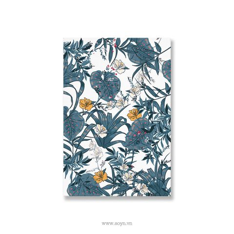Tranh Flower Pattern, Blue, Soyn S0253
