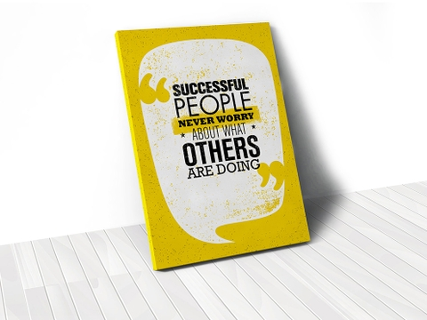 Tranh Successful people
