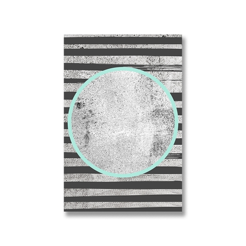 Tranh canvas Abstract, Circle SU0158