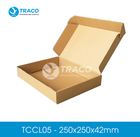 Combo 2000 hộp carton TRACOBOX TCCL05 - 250x250x42 mm